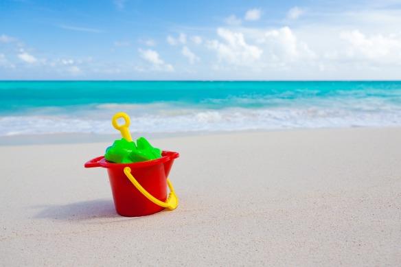 Beach and sun are real fun