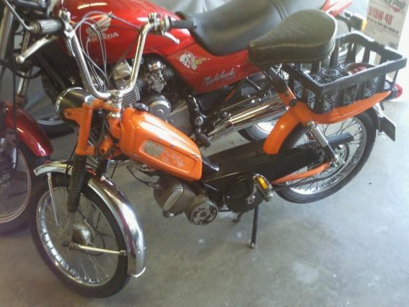 Cheap moped transport ManyShip