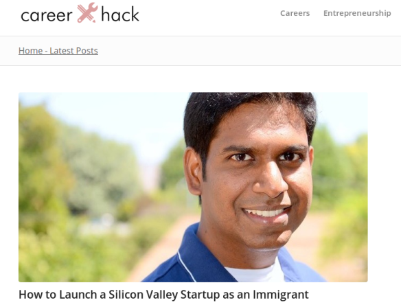 ManyShip Founder Featured in CareerHack
