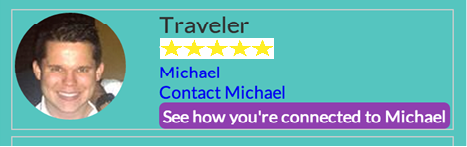 Traveler Profile with Teapot Integration on ManyShip